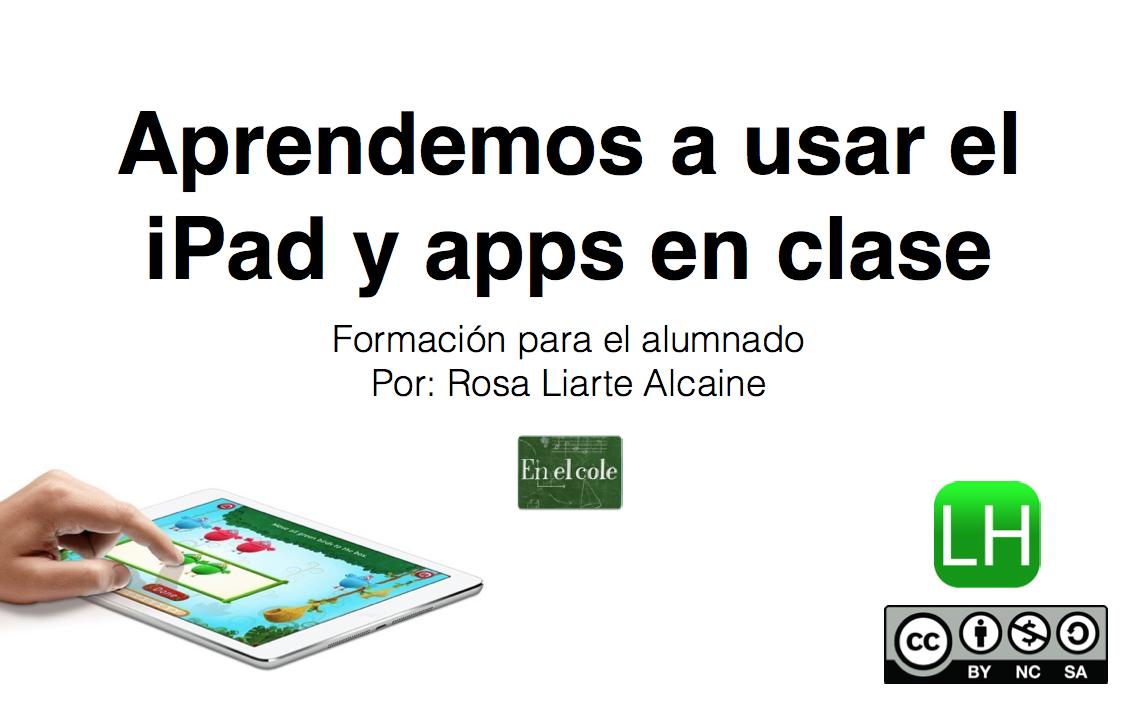 iPad en RosaLiarte.com