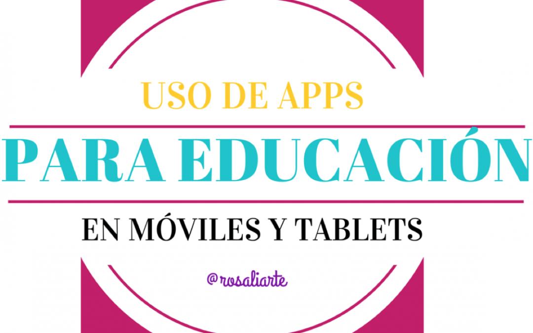 Apps para Educación Permanente y Educación Especial