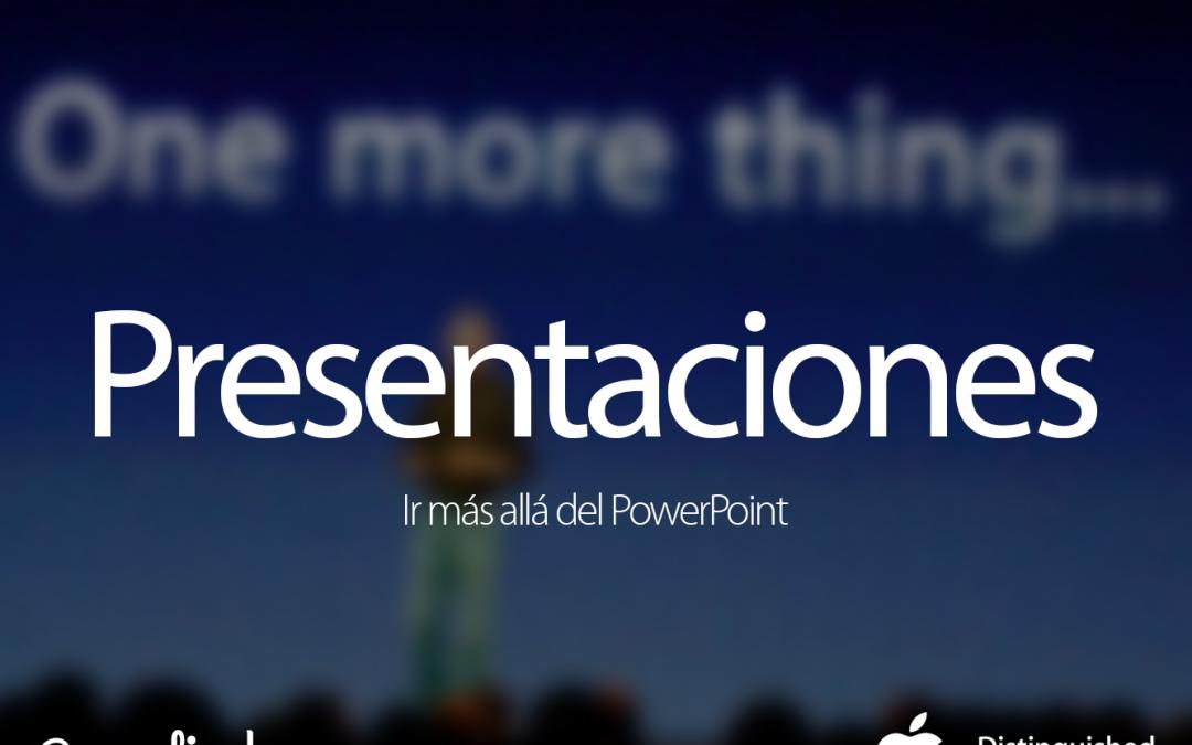 Presentaciones: ir más allá del PowerPoint