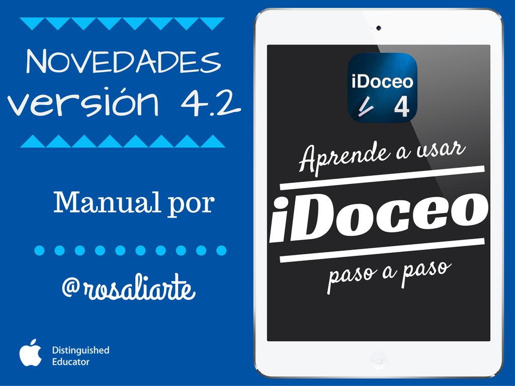 Actualización de iDoceo 4.2 con Rúbricas