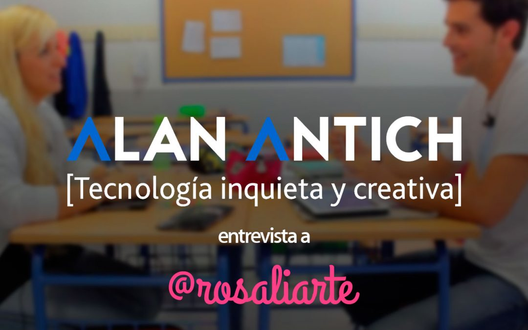 #TutoríaCon Rosa Liarte por Alan Antich