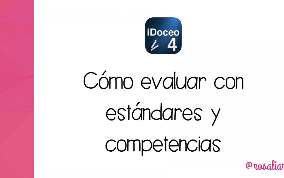 Cómo evaluar por estándares y competencias en iDoceo