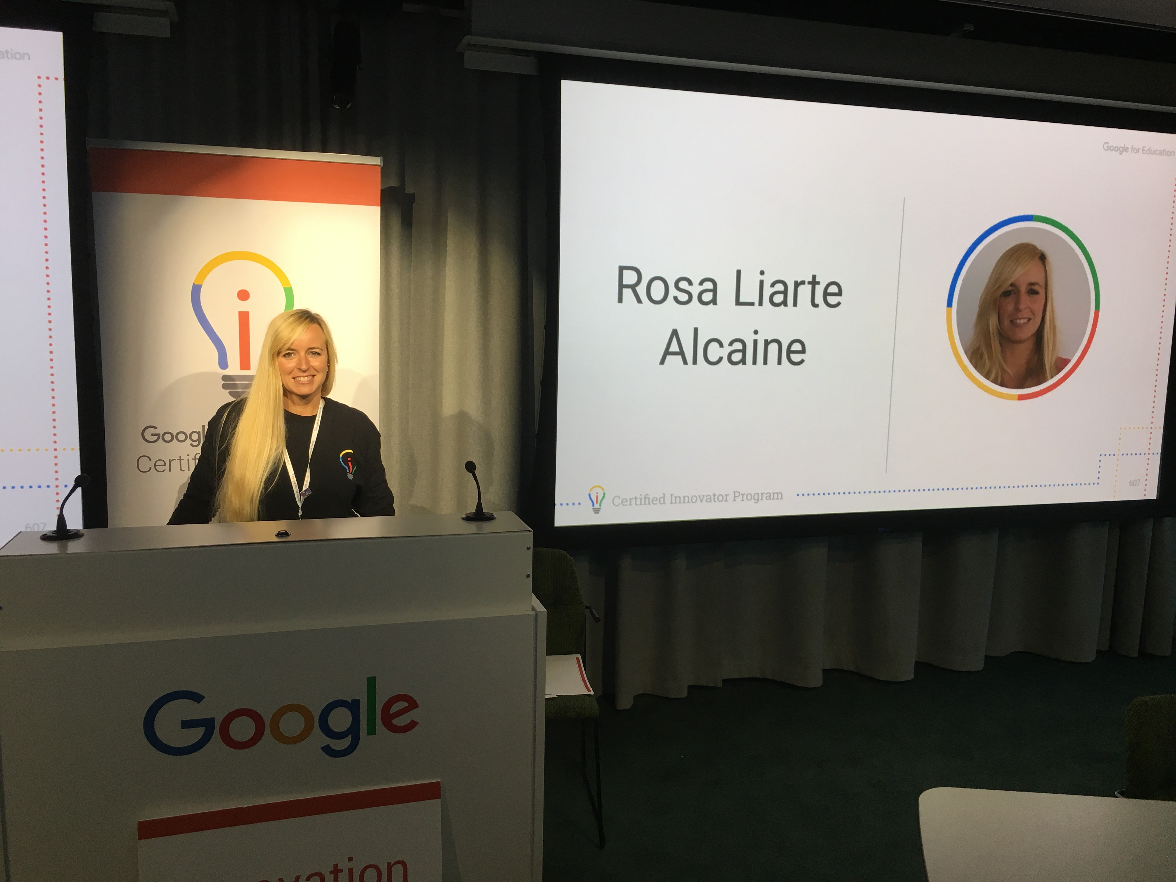 Mi experiencia en el evento de Google Innovator