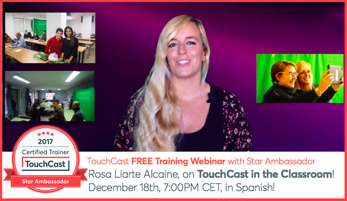 Mi webinar en español sobre Touchcast
