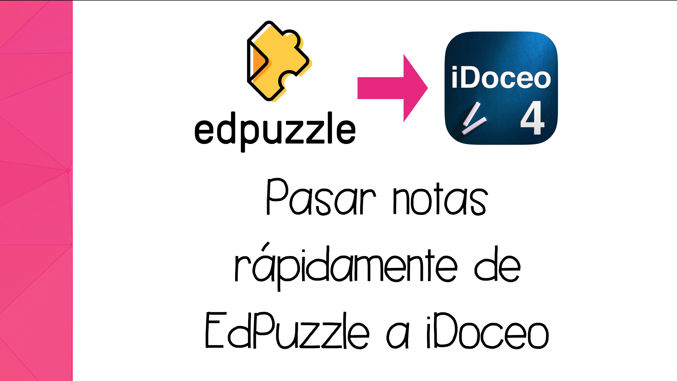 Cómo pasar notas de EdPuzzle a iDoceo con iOS 11