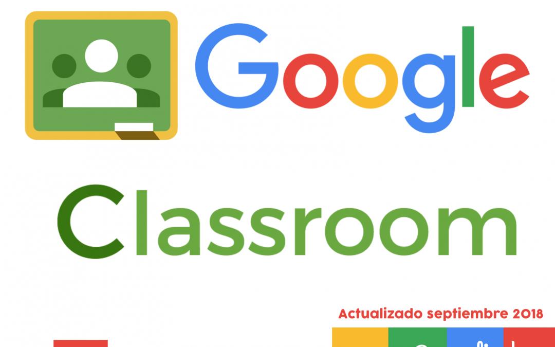 Tutorial del nuevo Google Classroom 2018