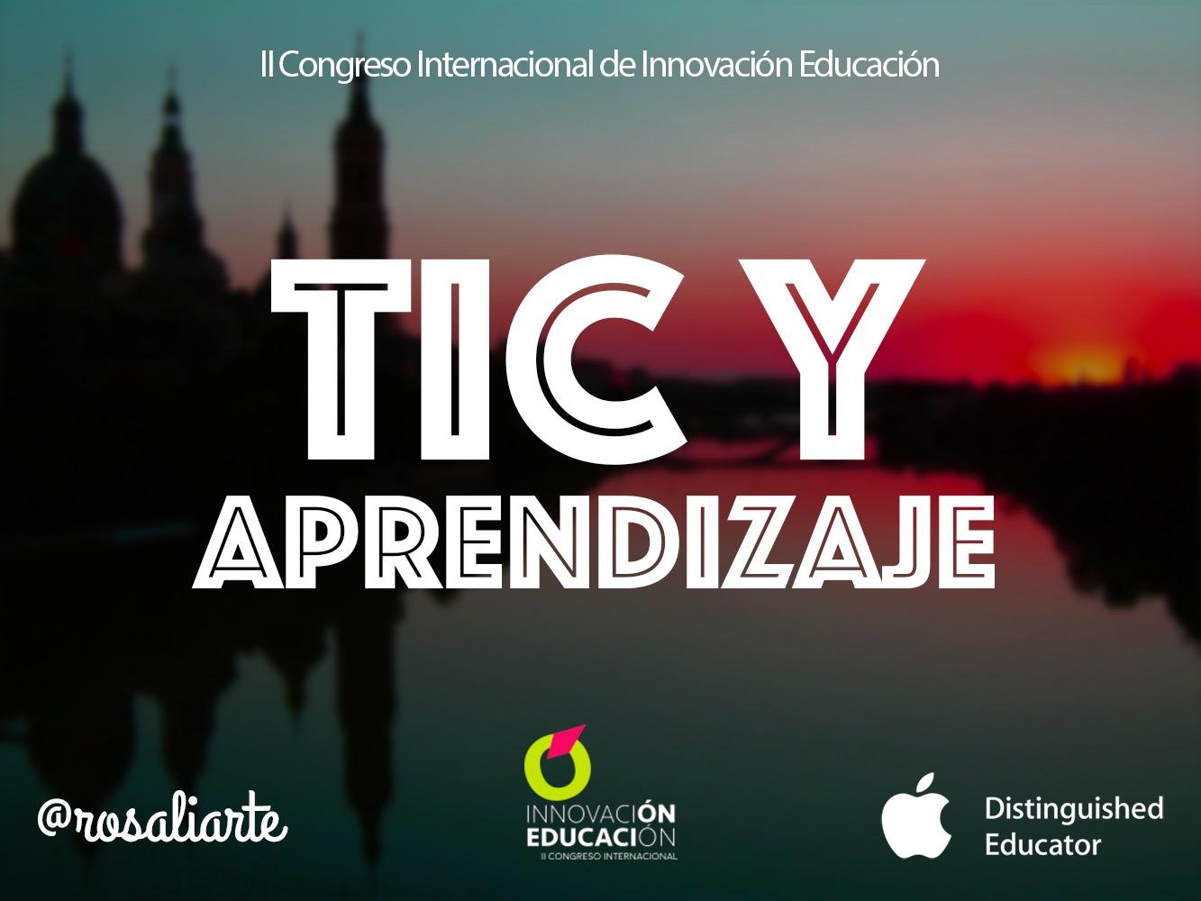 TIC y Aprendizaje en el II Congreso de Innovación en Educación
