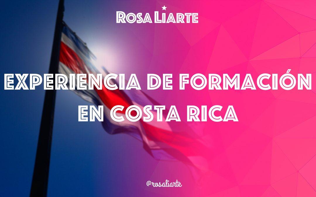 Impartiendo Formación al profesorado en Costa Rica