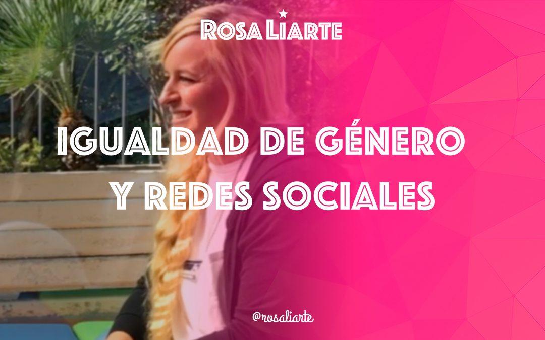 Entrevista: igualdad de género y redes sociales