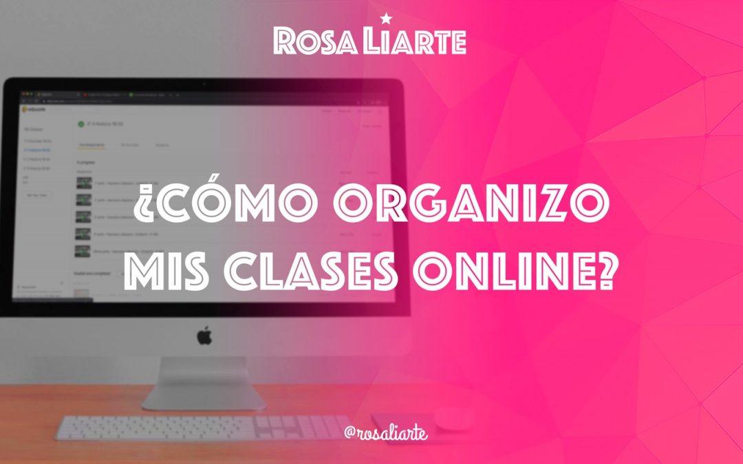 ¿Cómo organizo mis clases online?