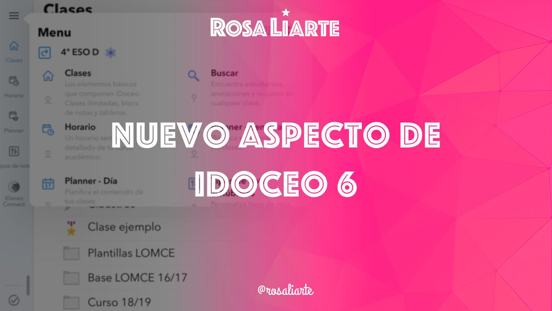 iDoceo 6: así es la nueva interfaz