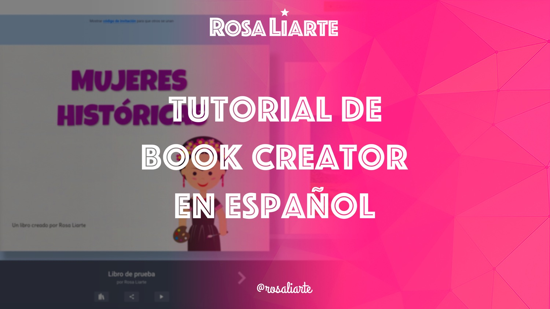 Videotutorial de Book Creator