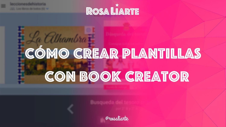 Cómo crear plantillas con Book Creator