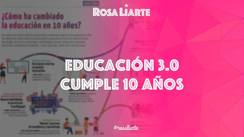 Educación 3.0 cumple 10 años
