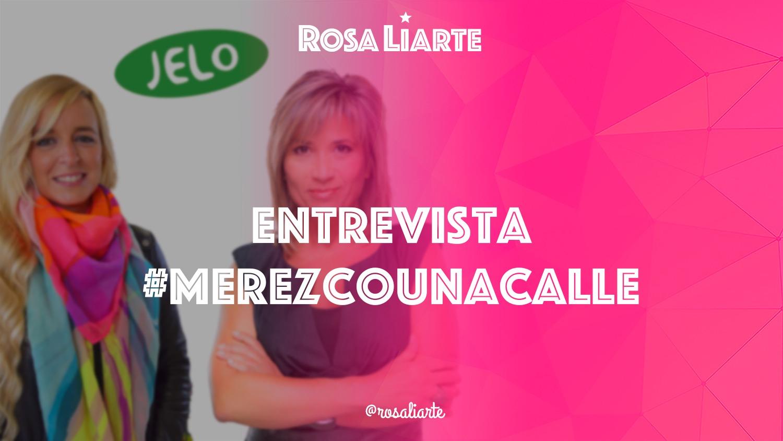 Entrevista de #merezcounacalle en Julia en la Onda